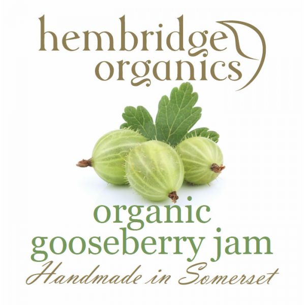 hembridge organics gooseberry jam