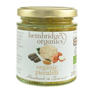 hembridge organics picalilli jar