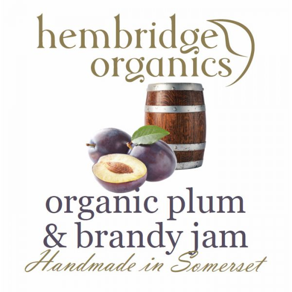hembridge organics plumb brandy jam