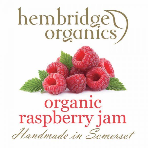 hembridge organics rasberry jam