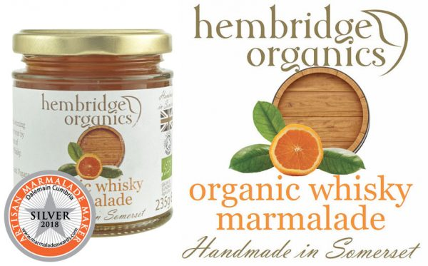 hembridge organics whisky marmaladesilver award