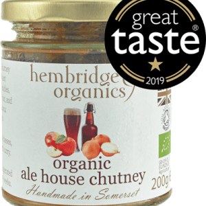 hembridge organics ale house chutney