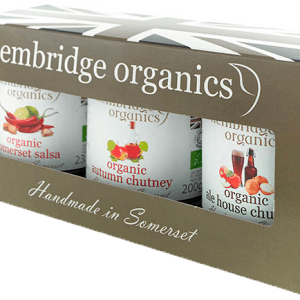 hembridge organics chutney gift box