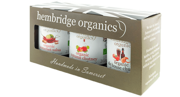 hembridge organics chutney gift box