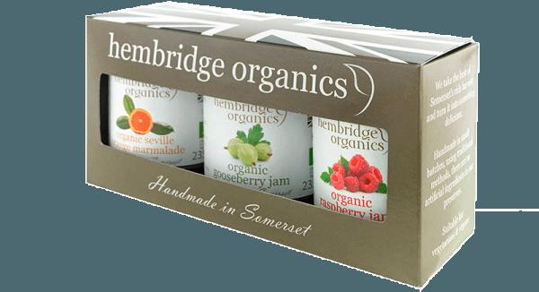 hembridge organics jam gift box