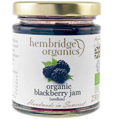 hembridge organics blackberry jam
