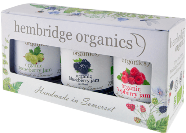 hembridge organics jam gift box