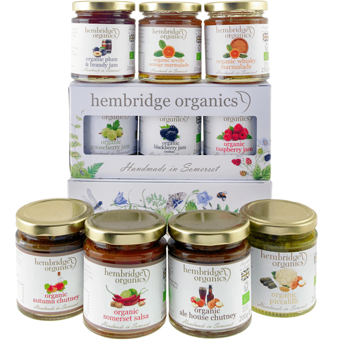 hembridge organics packshot group